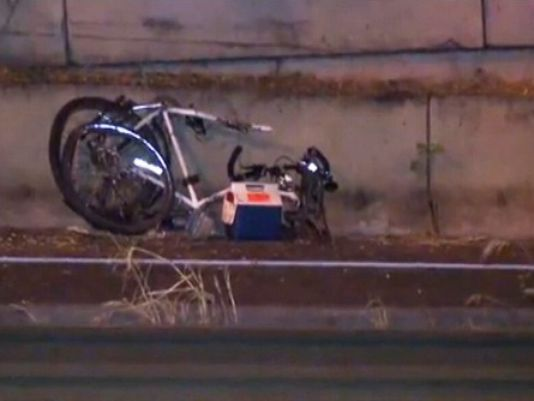 interstate greeley cyclist hit